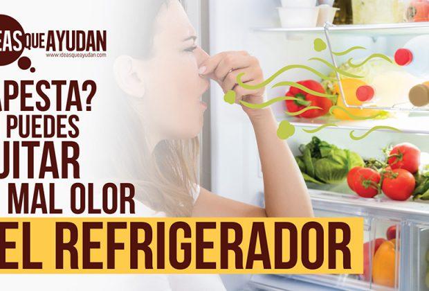 mal olor del refrigerador