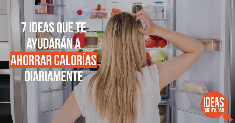 ahorrar calorías