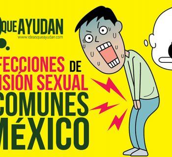 infecciones de transmisión sexual más comunes en México