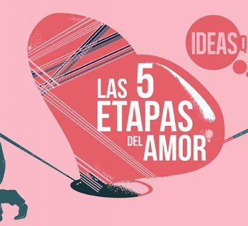 Las 5 etapas del amor