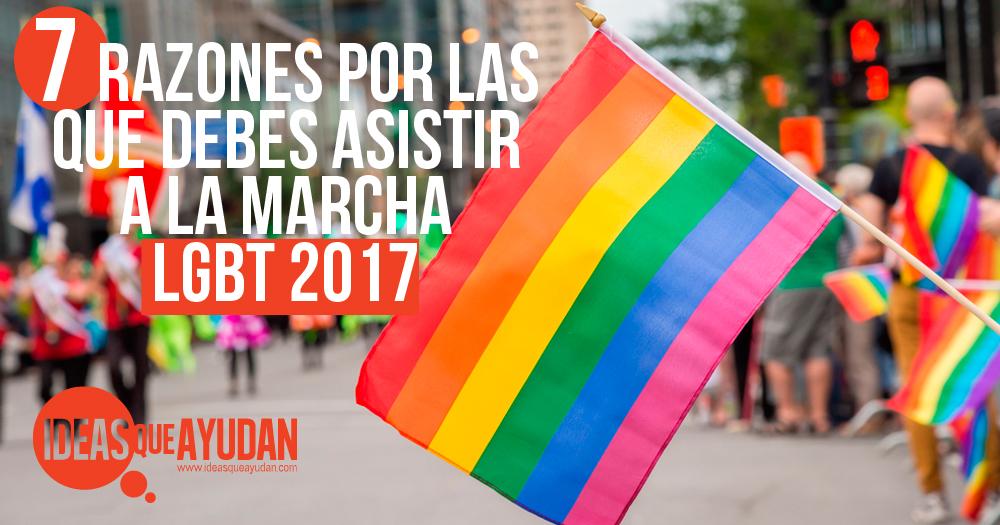 marcha lgbt 2017