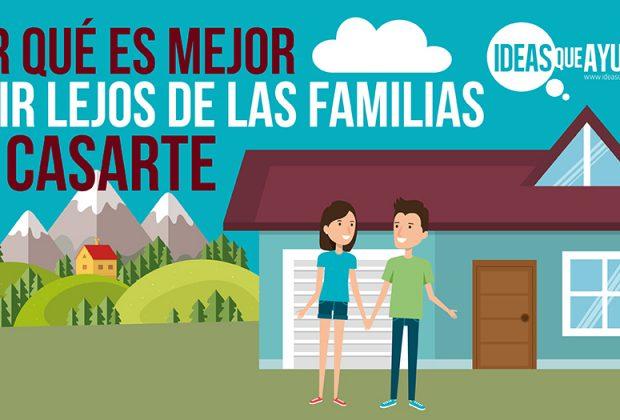 vivir lejos de las familias al casarte