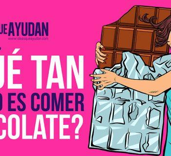 Qué tan bueno es comer chocolate