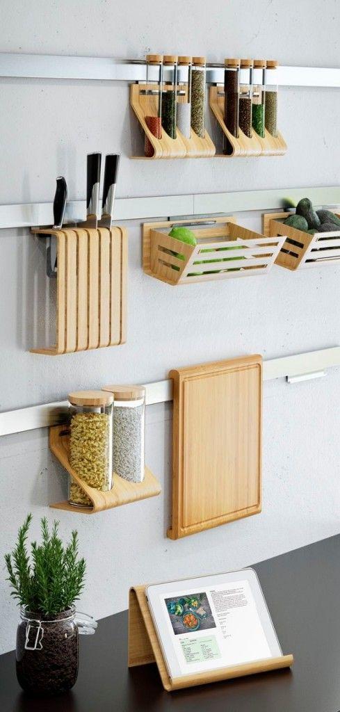 7 ideas de repisas buenas bonitas y baratas for Utensilios de cocina ikea
