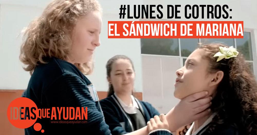 El sandwich de Mariana