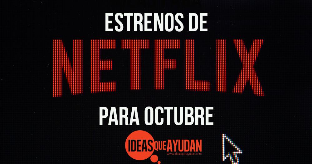 Netflix para octubre