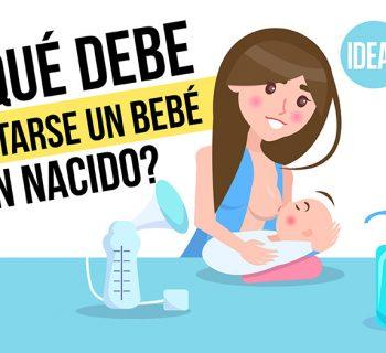 alimentarse un bebé recién nacido