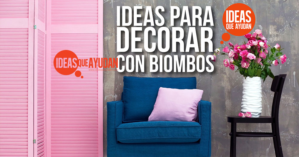 decorar con biombos