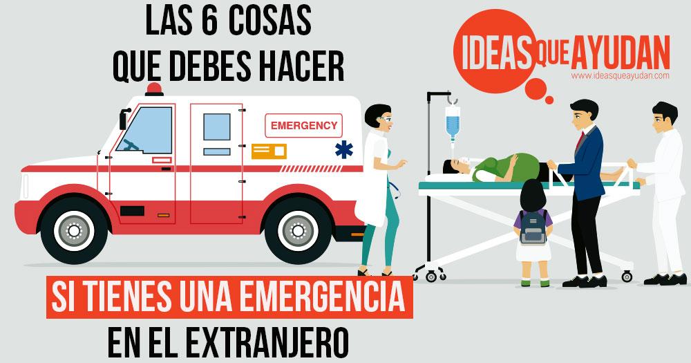 emergencia en el extranjero