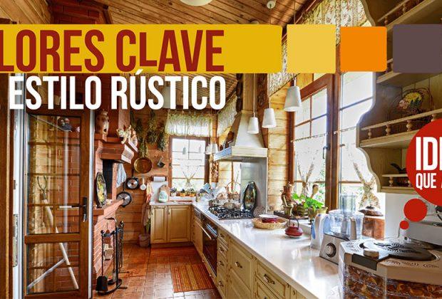 Estilo r stico y sus colores clave para una casa de 10 for Colores rusticos para interiores