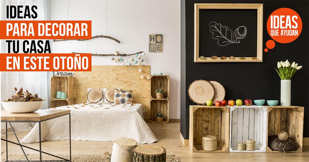 decorar tu casa este otoño