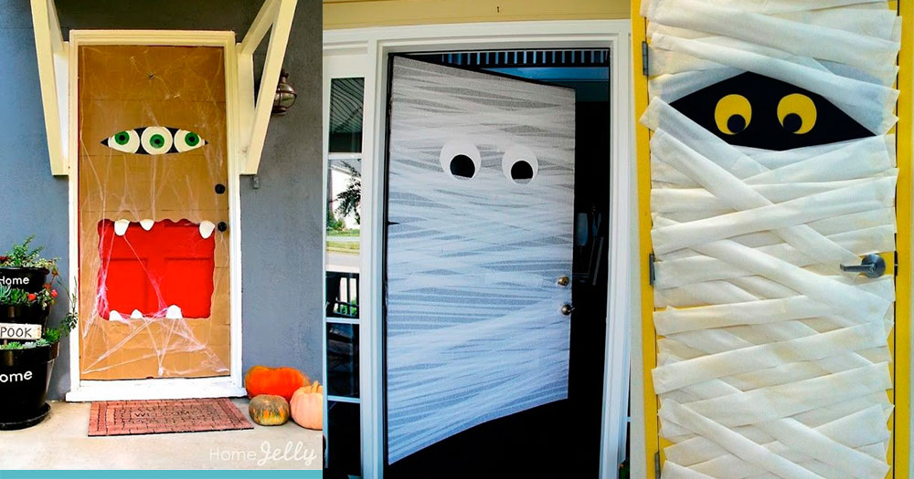 Ideas para decorar tu casa en halloween for Ideas para decorar puertas