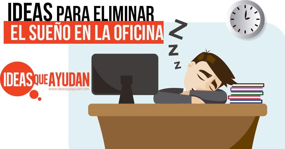 sueño en la oficina