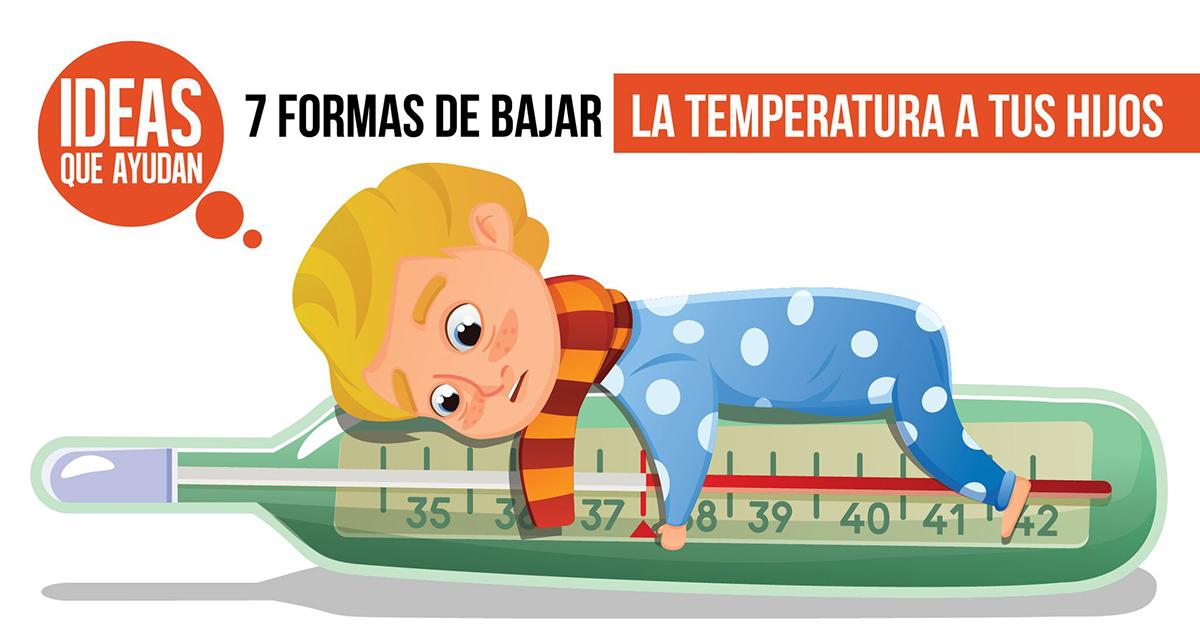 7 formas de bajar la temperatura