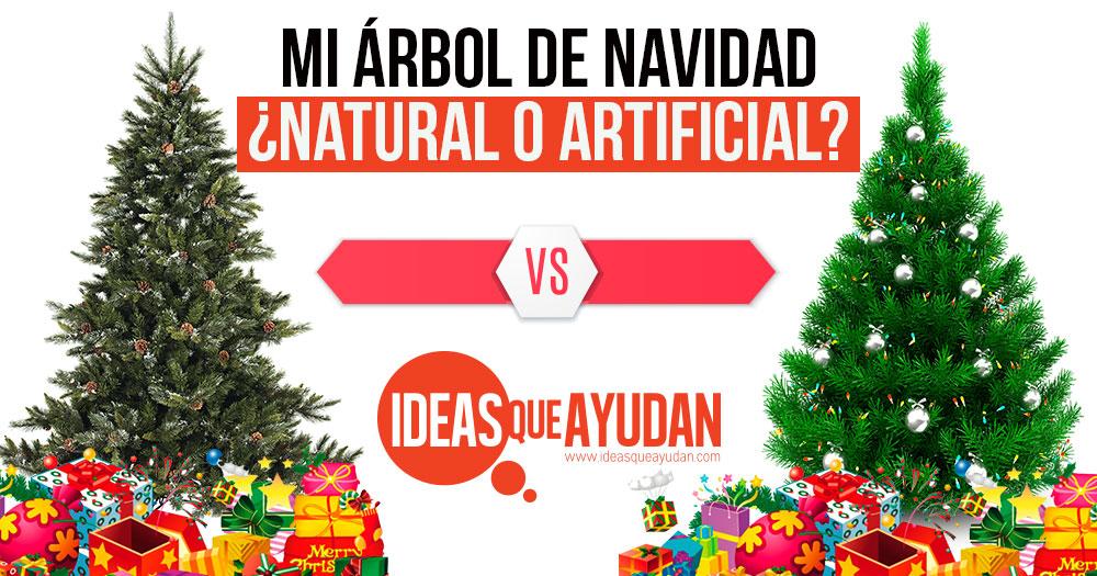 Arbol De Navidad Natural O Artificial Descubre Cual Te Conviene