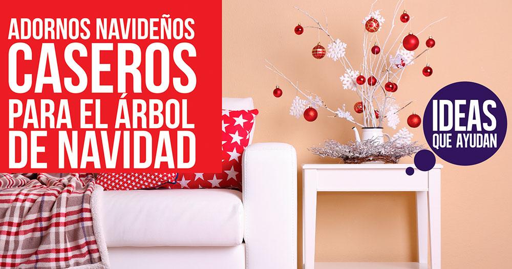 Adornos navide os caseros para el rbol de navidad - Adornos para arbol de navidad caseros ...