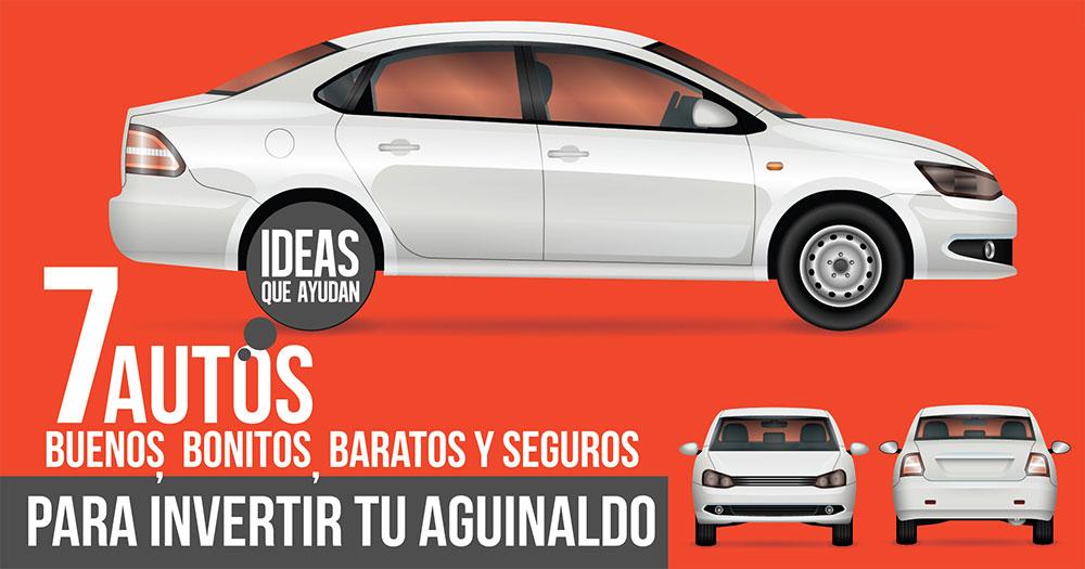 autos buenos, bonitos, baratos y seguros