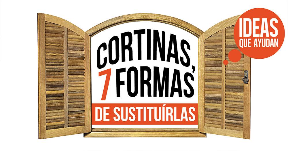 Cortinas 7 formas de sustituirlas y decorar tu casa - Formas de cortinas ...