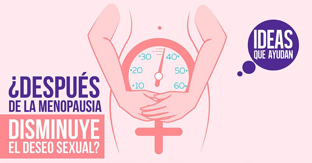 menopausia disminuye el deseo sexual