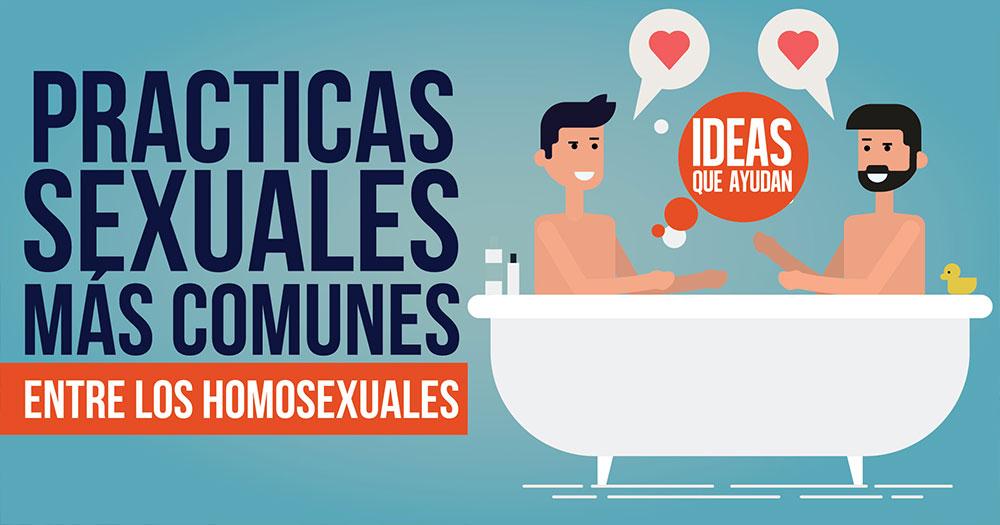 Practicas sexuales mas comunes entre los homosexuales