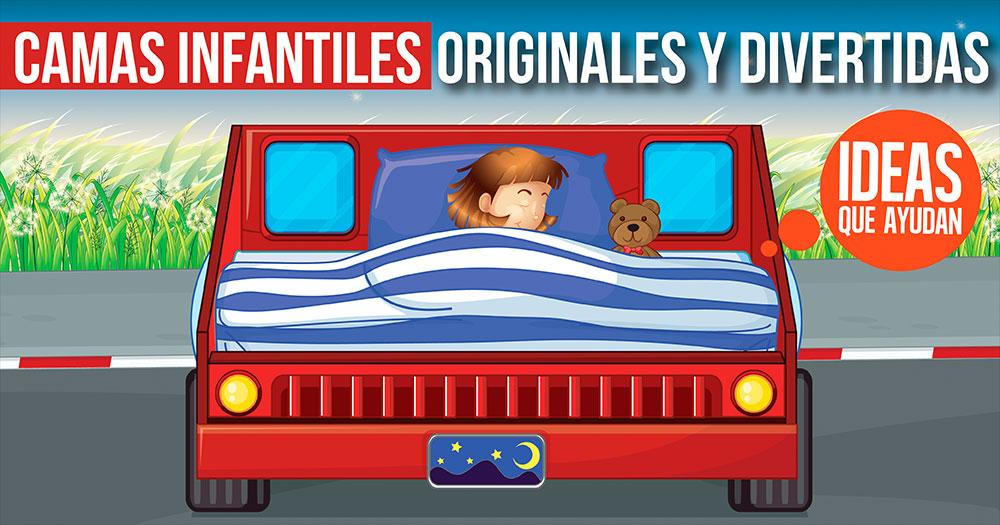 Camas infantiles originales y divertidas que tus hijos - Camas infantiles divertidas ...