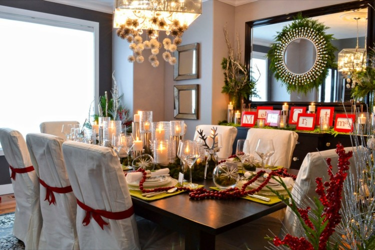 Las mejores formas para decorar la mesa de navidad