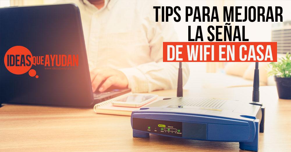 mejorar la senal de WiFi