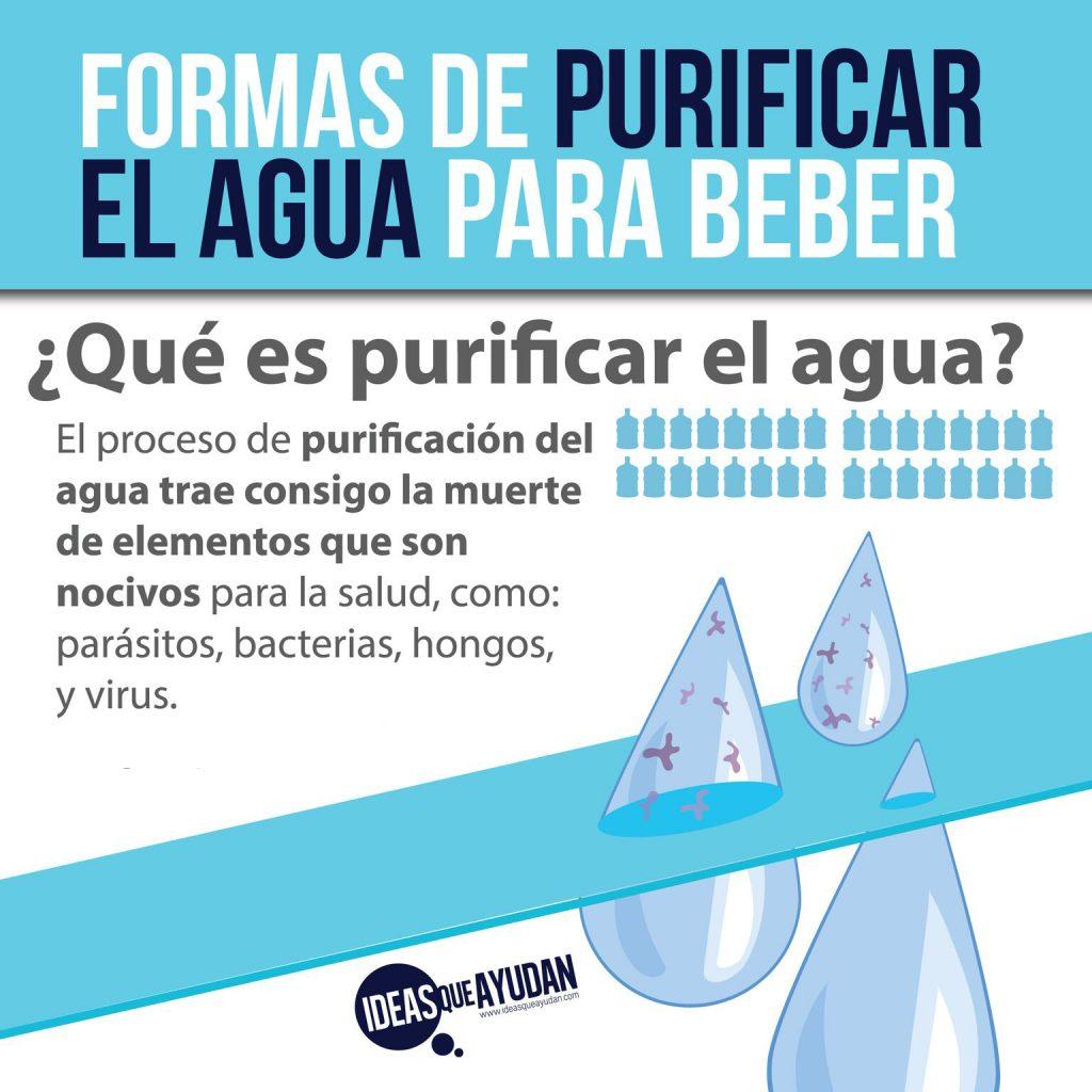 Formas de purificar el agua para beber ideas que ayudan for Como combatir las garrapatas en el jardin