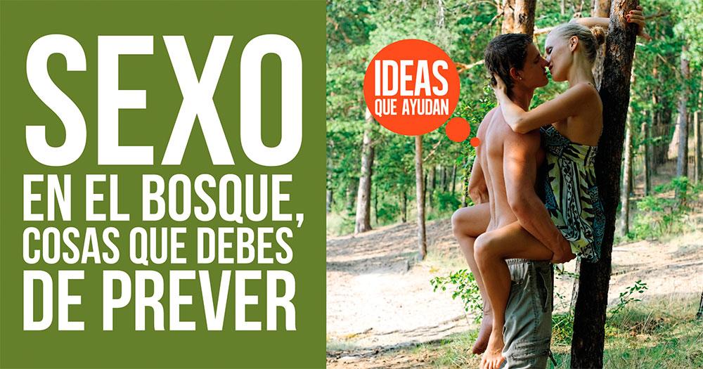 Sexo en el bosque