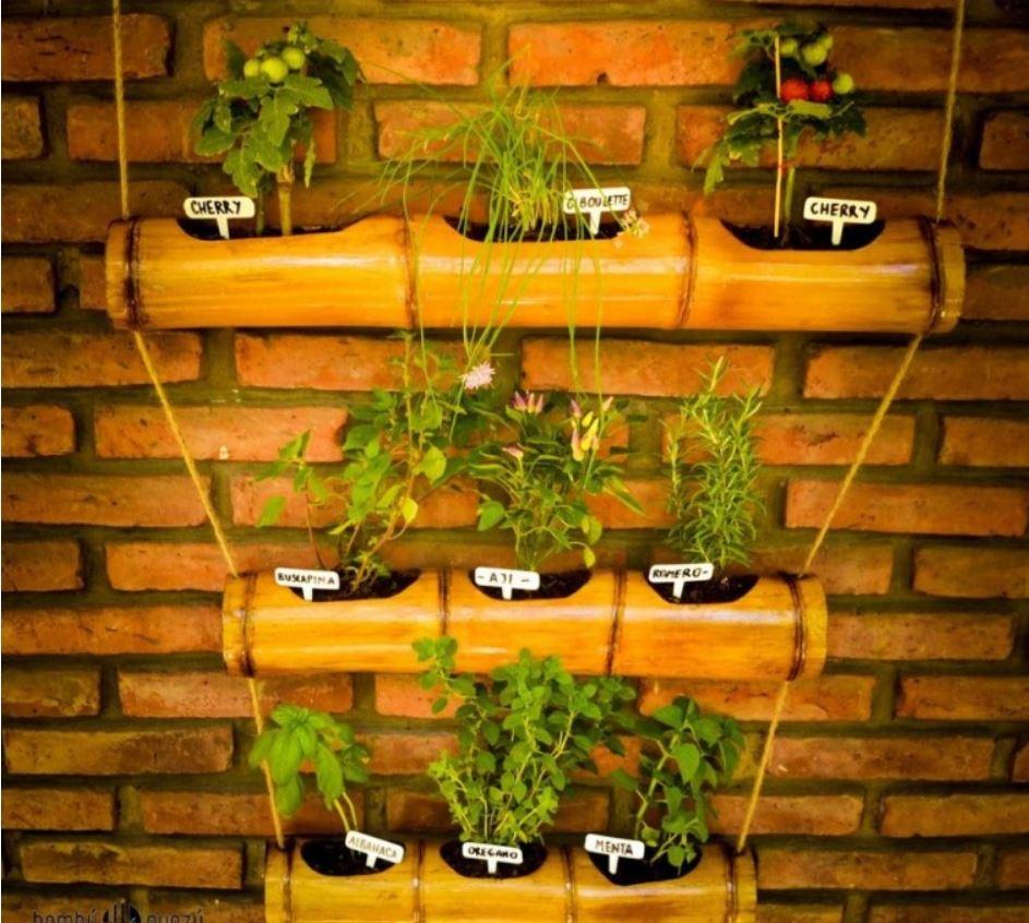 Decorar con bamb ideas creativas para implementarlo - Como se planta el bambu ...