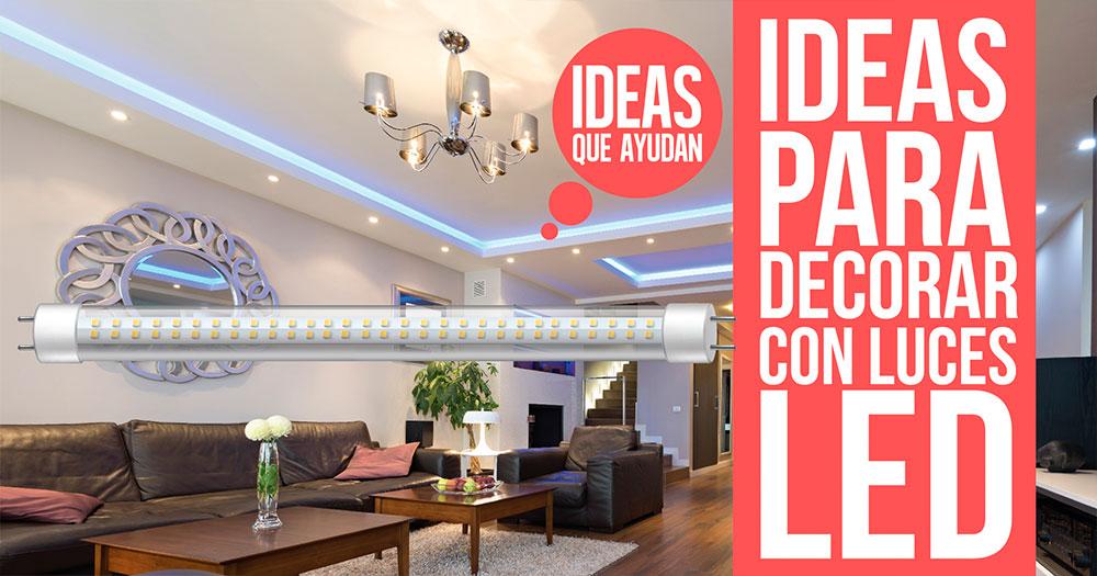 Ideas para decorar con luces led ahora y decora al mismo for Luces led para decorar