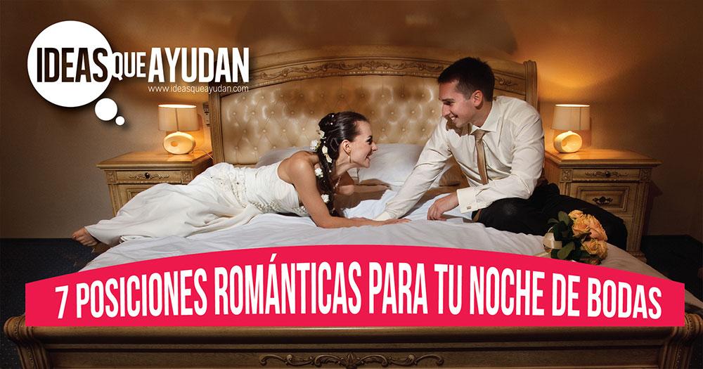 posiciones romanticas para tu noche de bodas