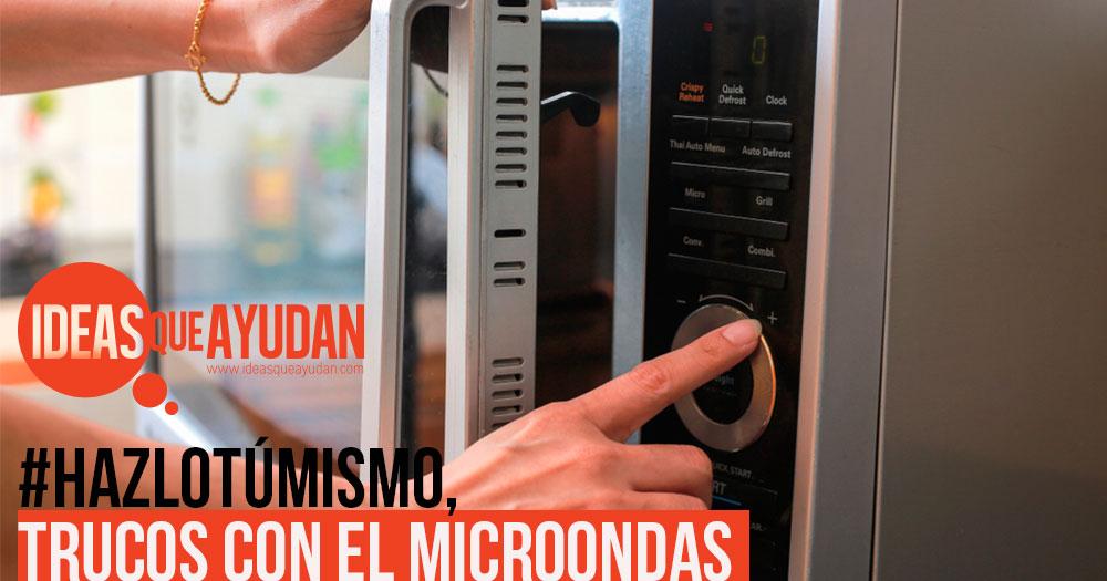 trucos con el microondas