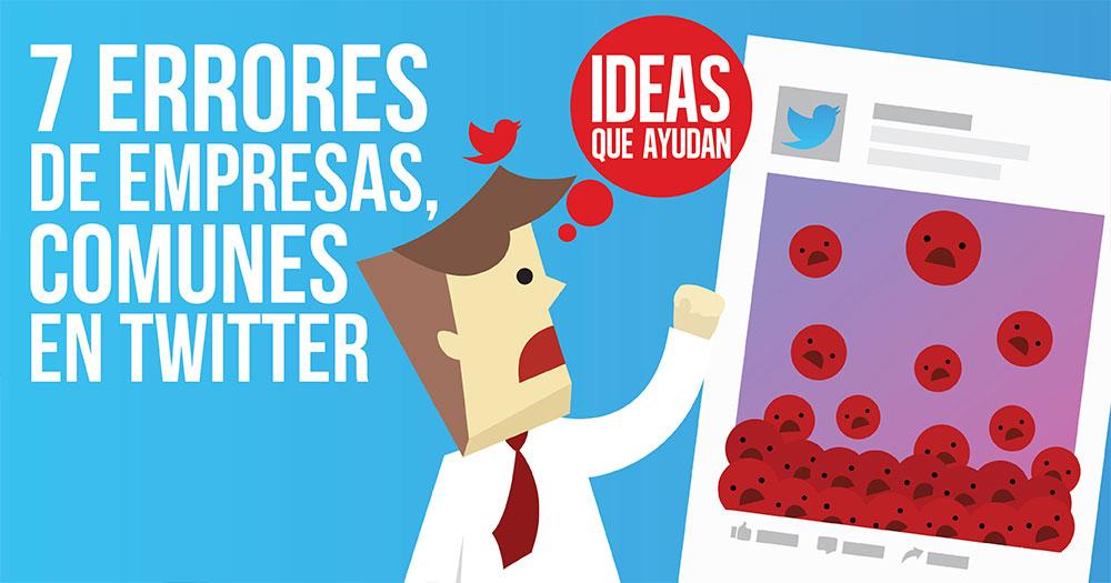 errores de empresas comunes en Twitter