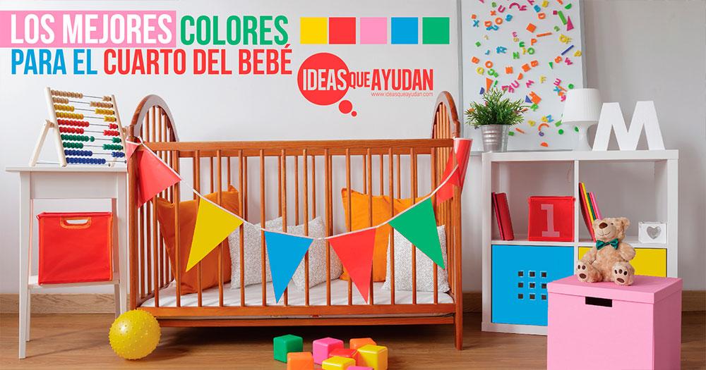 Los mejores colores para el cuarto del bebe