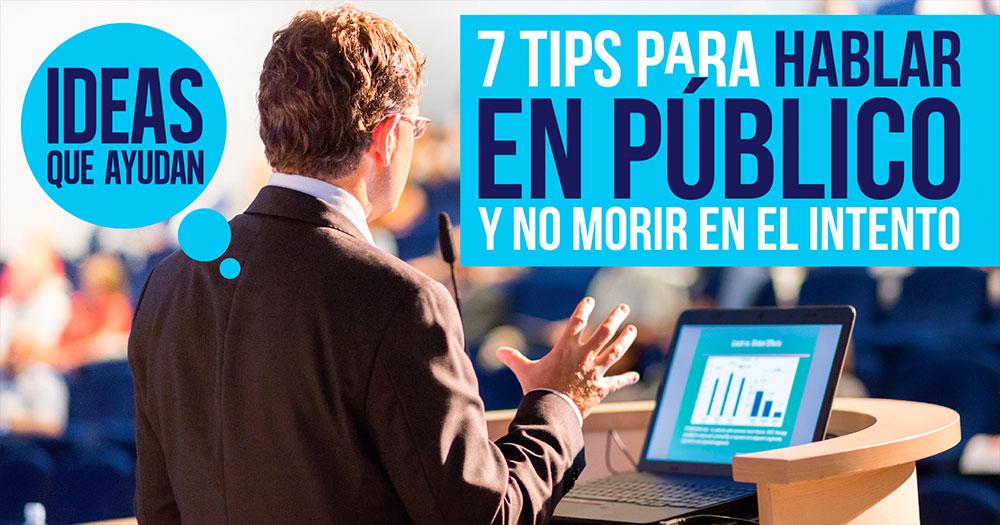 tips para hablar en publico