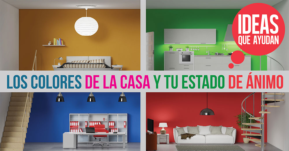 Los colores de la casa y tu estado de animo