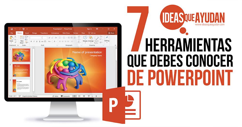 herramientas que debes conocer de PowerPoint