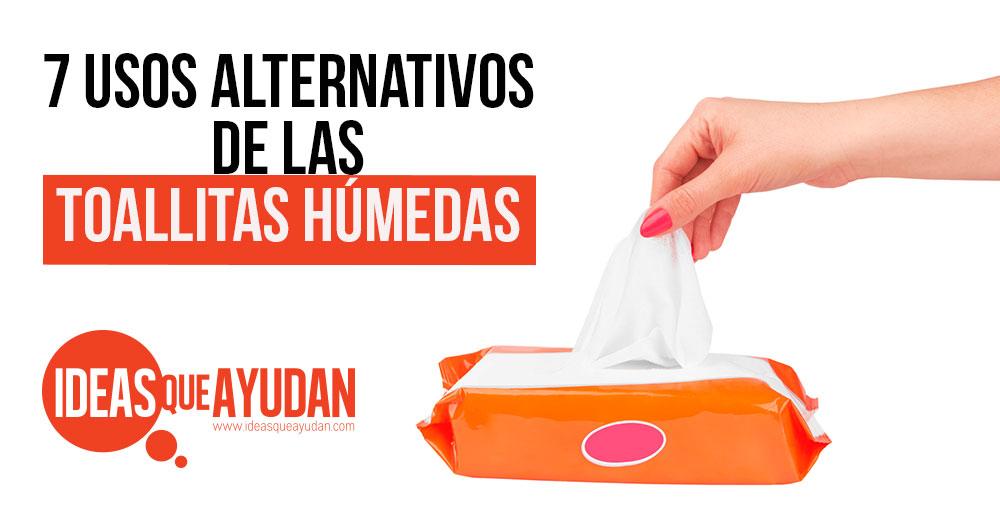 usos alternativos de las toallitas humedas