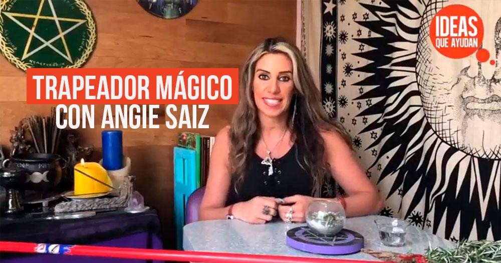 trapeador magico