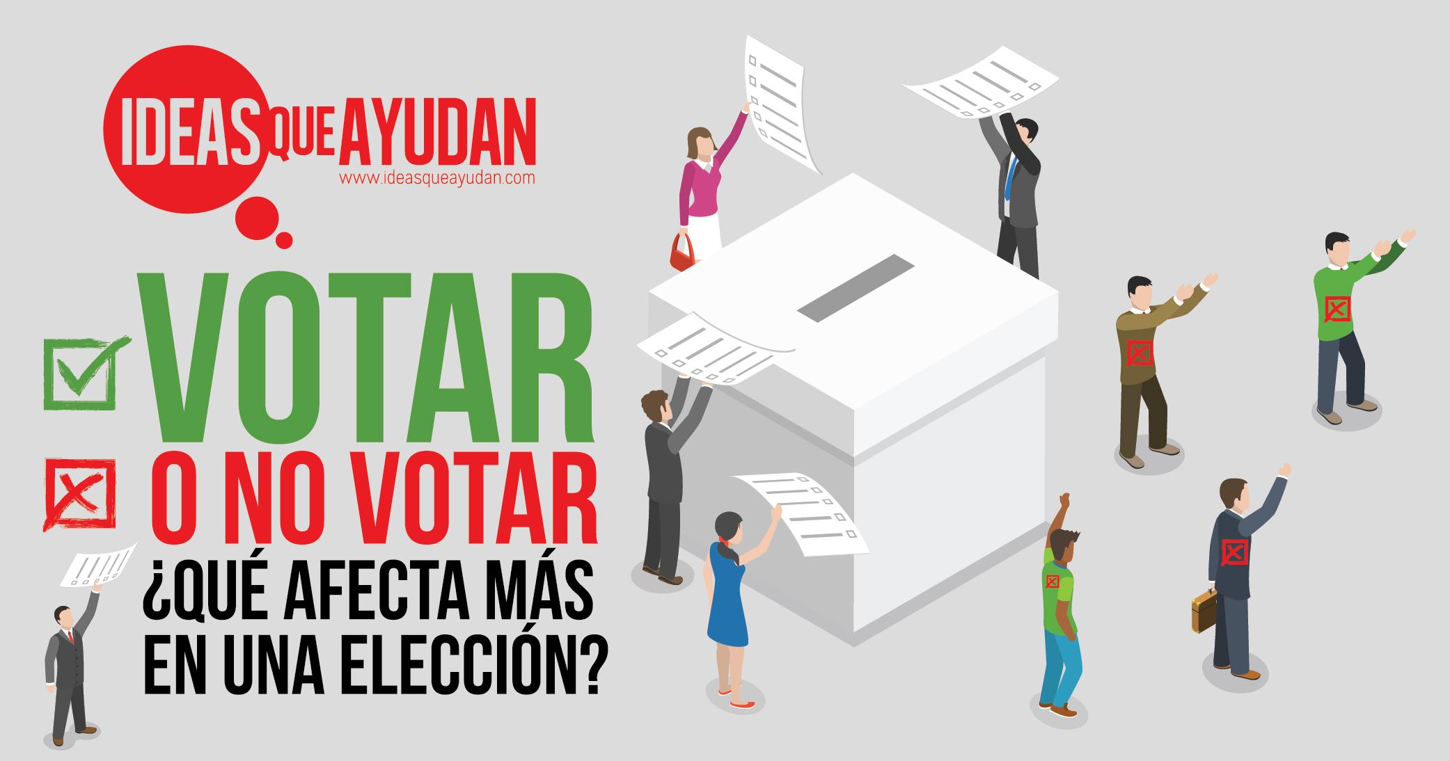 votar o no votar