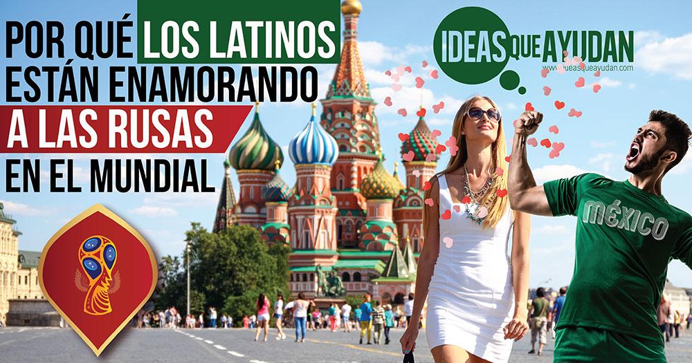 latinos estan enamorando a las rusas en el mundial