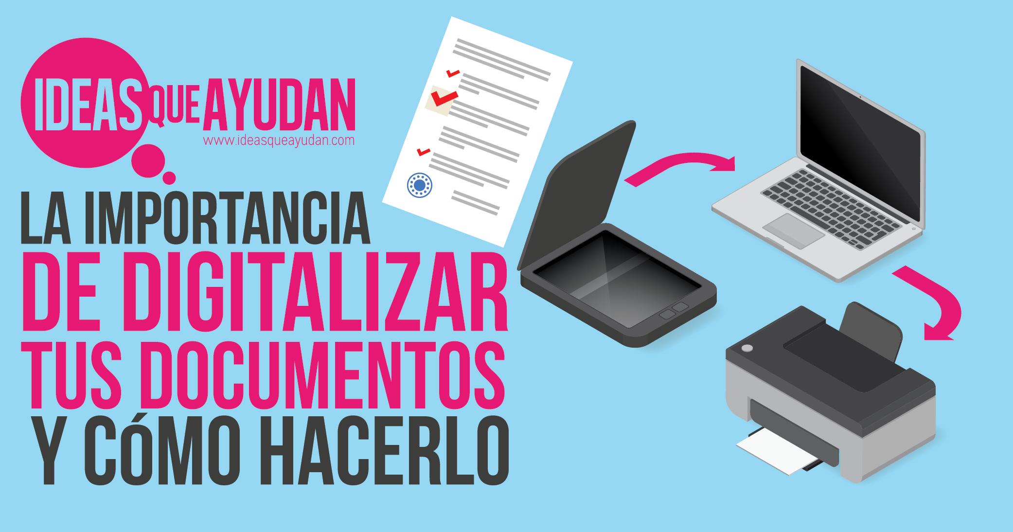 digitalizar tus documentos