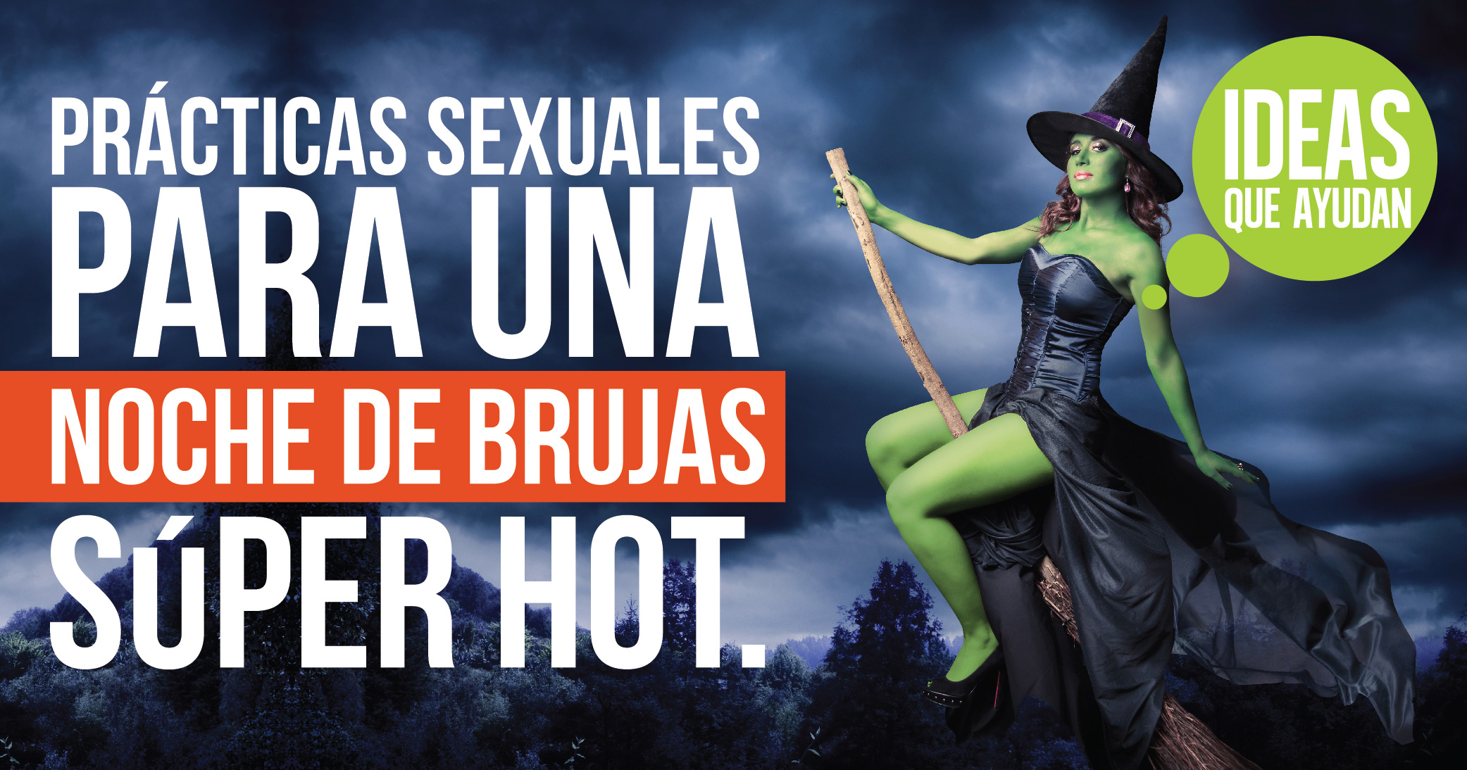 Practicas sexuales para una noche de brujas