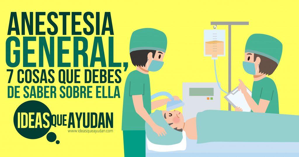 Anestesia general