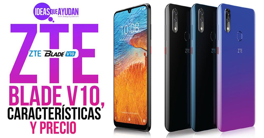 ZTE blade V10 características y precio