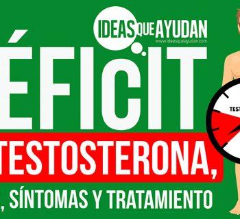 Déficit de testosterona