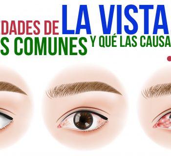 Enfermedades de la vista más comunes