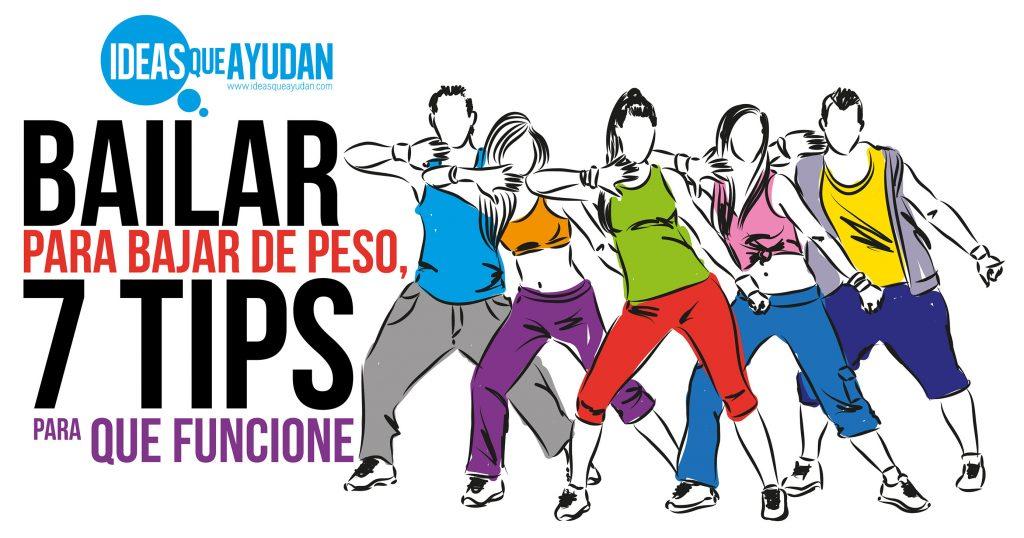 Bailar para bajar de peso, 7 tips para que funcione