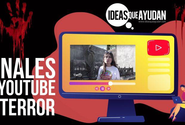 Canales de Youtube de terror